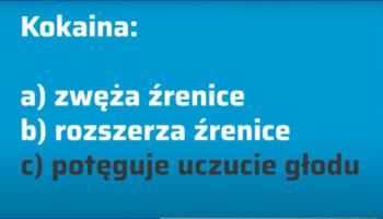 Kokaina wiąże się odwracalnie i dezaktywuje kanały sodowe przez co hamuje pobudzenie zakończeń nerwowych (fot. receptura.pl).
