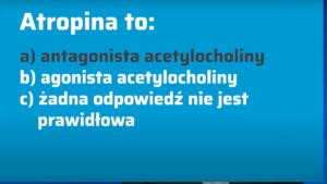 Atropina jest estrem tropiny i racemicznego kwasu tropowego zaliczanym do grupy alkaloidów tropanowych (fot. receptura.pl).