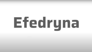 Efedryna sosowana jest również miejscowo w postaci kropli do nosa (fot. receptura.pl).
