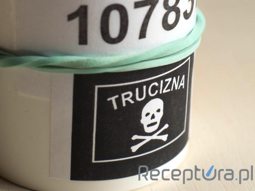 Leki należące do wykazu A nazywane są truciznami (fot. receptura.pl).