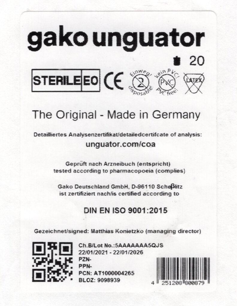 Etykieta produktu z kodem BLOZ oraz EAN