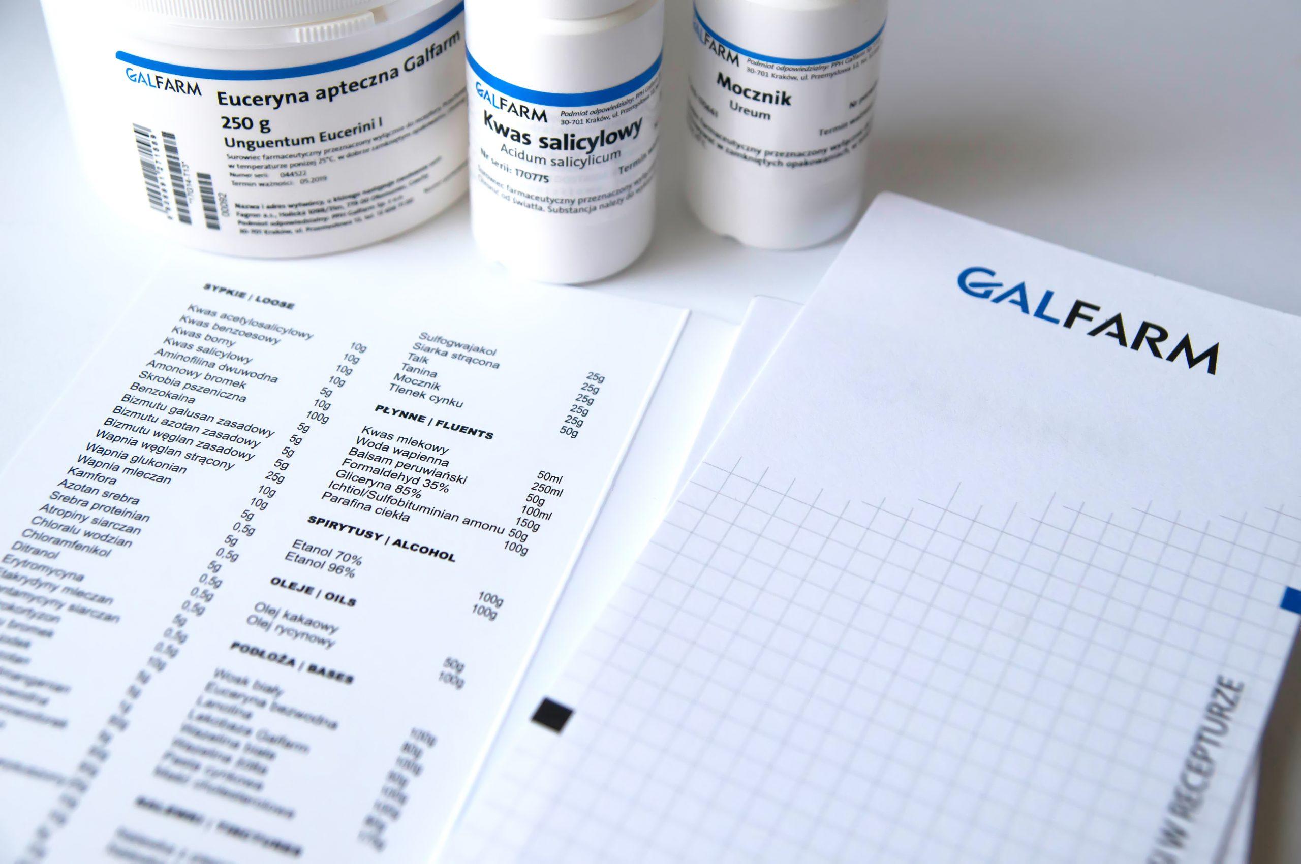 Pewne właściwości rezorcynolu wykazują: kwas askorbowy, palmitynian askorbylu, siarka, kwas mlekowy, kwas salicylowy czy kwas cytrynowy (fot. Redakcja receptura.pl).